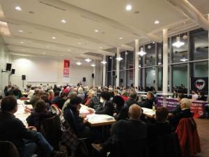 Für eine Fritz-Salm-Straße! Veranstaltung im Gewerkschaftshaus